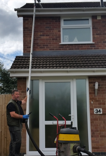 Window, Conservatory, fascia & Gutter Cleaning in Rugby